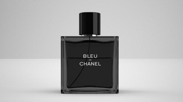 chanel bleu 3D model