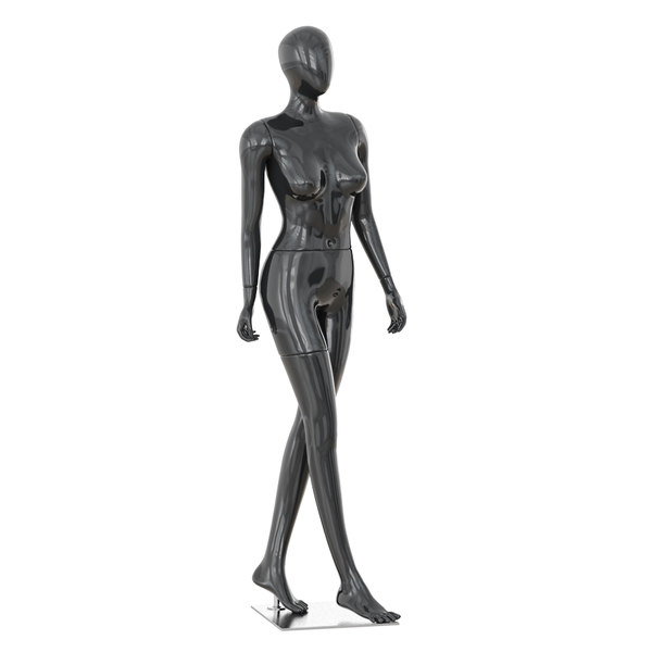 3D model abstract female mannequin