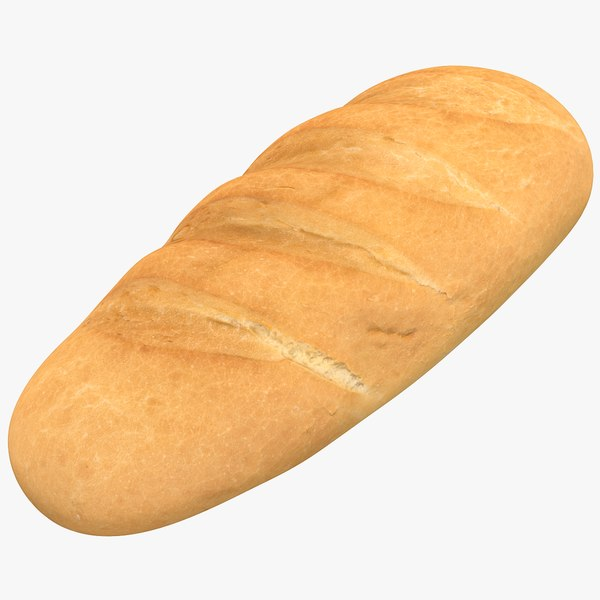 bread using 3D model