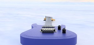3D guitar jackson-js22