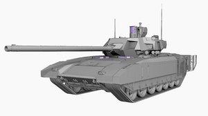 3D t-14 armata russian mbt
