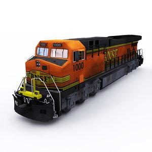 3D model ge locomotive