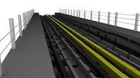 Metro track