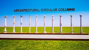 3D luxuary column