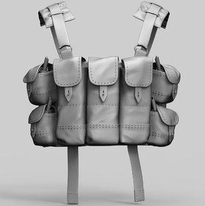 belt-a chest rig 3D