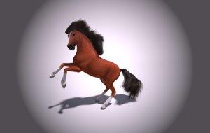 horse 3D