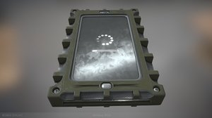 3D military pda ready games model