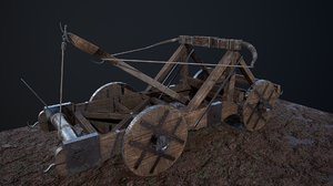 siege weapon s 3D
