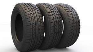 3D tire rim wheel pack