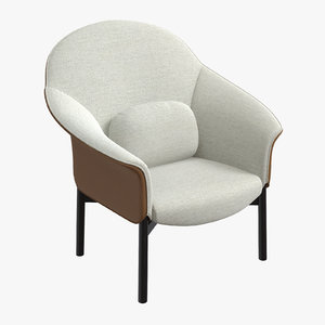 gloria armchair 3D model