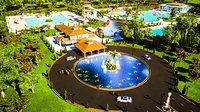 3D architecture resort