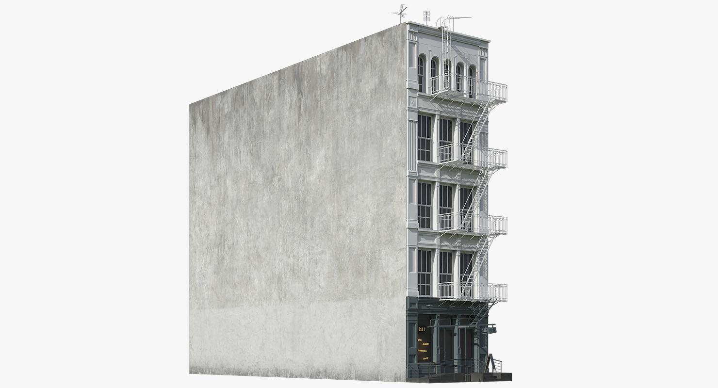 3D model new york decor shop