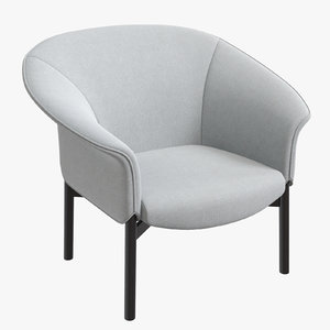 arflex gloria armchair 3D model