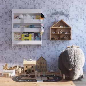 s set toys 3D model
