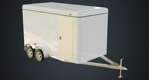3D cargo trailer