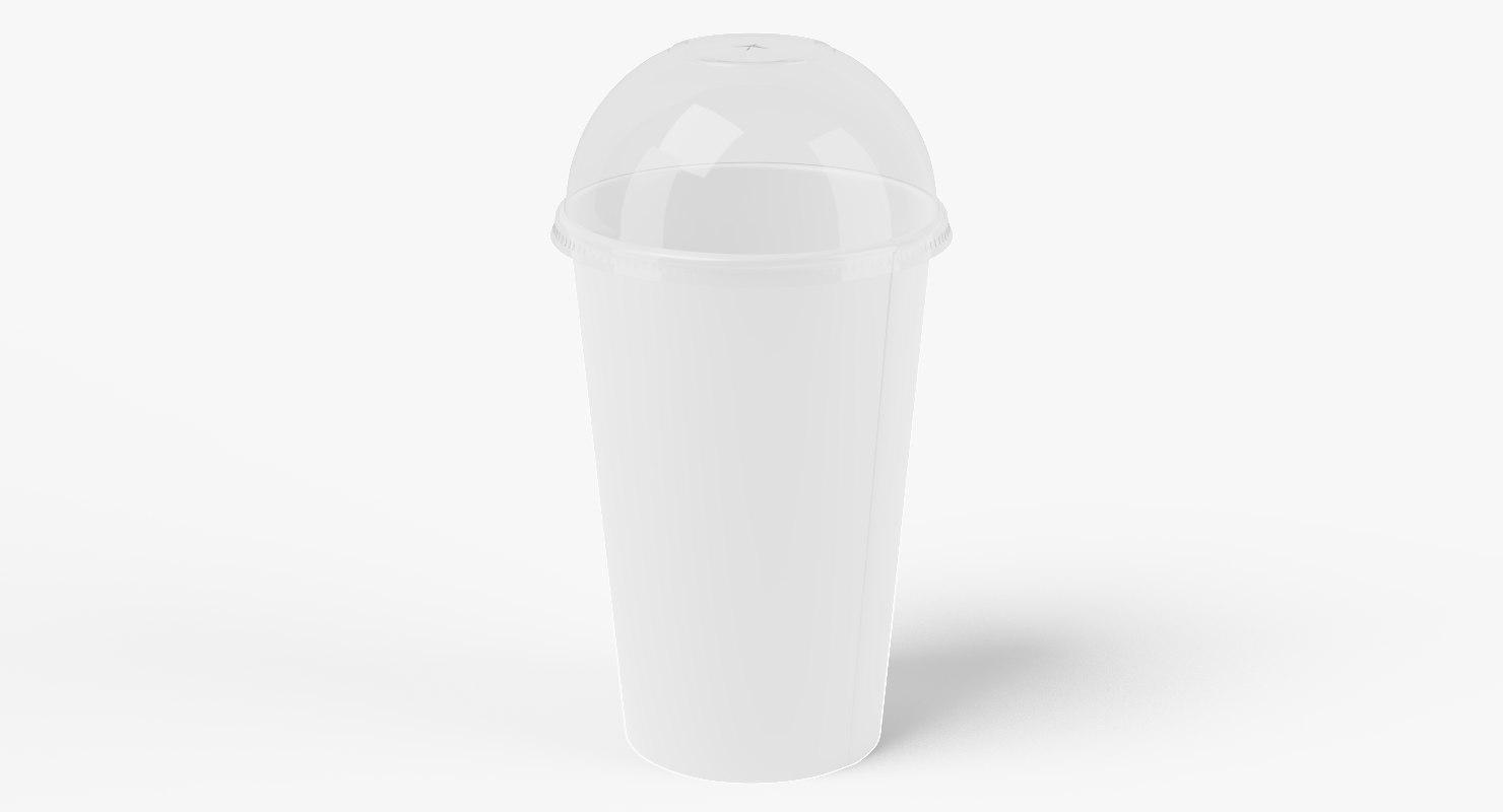 3D paper cup