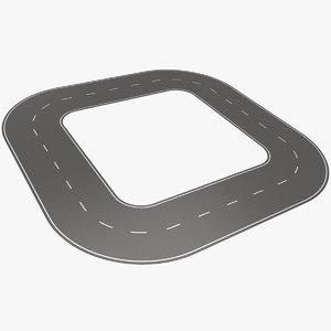 3D bitumen road 2