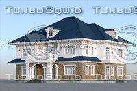 villa house home 3D model
