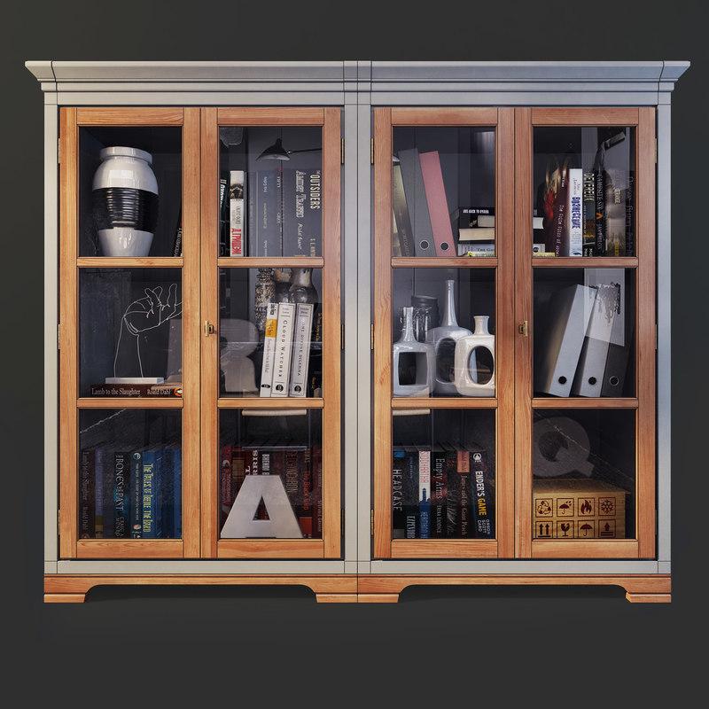 3D cupboard country club flai