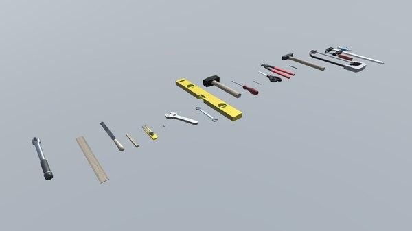 workshop tools pack model