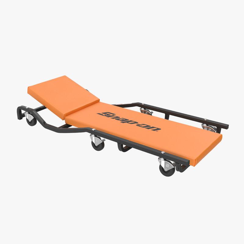 car creeper orange jcw65o model