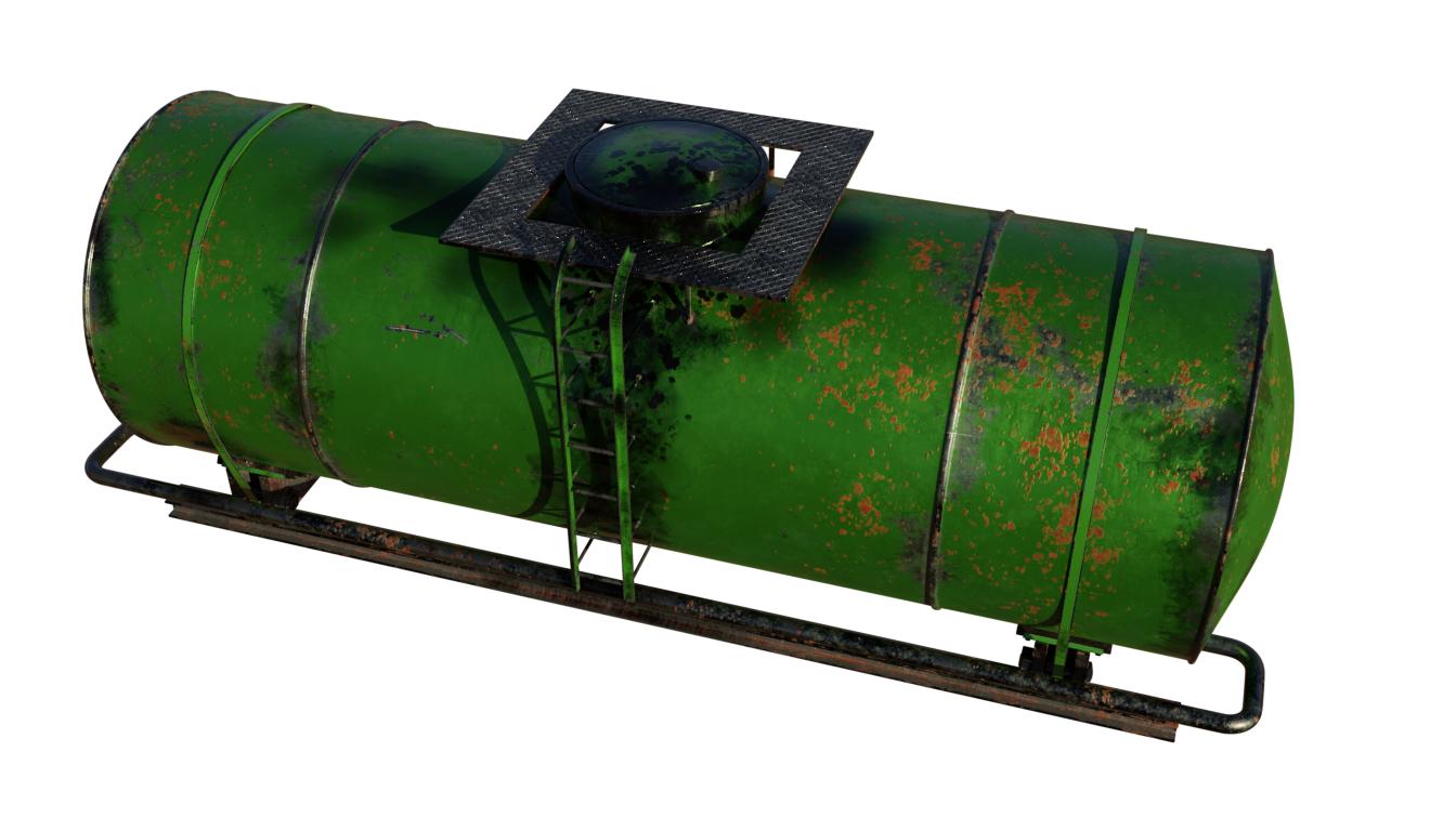 tank train 3D