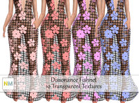 Dissonance Fishnet Seamless Textures