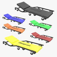 car creepers 3D model