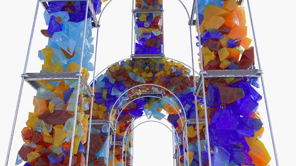 3D sky arch