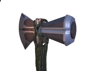 thor axe stormbreaker 3D model