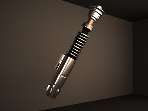 3D luke skywalker lightsaber