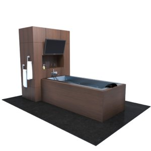 modern set bath model