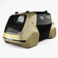 3D model volkswagen sedric 2017