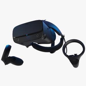 oculus rift s controllers 3D