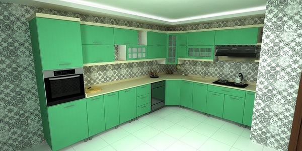 kitchen siteler 3D