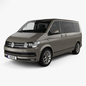 3D volkswagen transporter t6 model