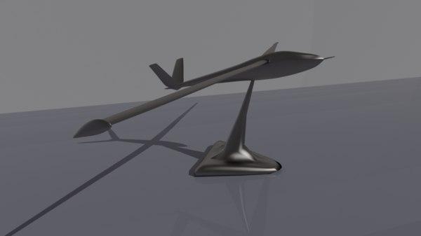3D glider stand
