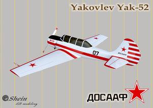 3D sport yak-52