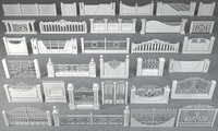 Fences - 31 pieces