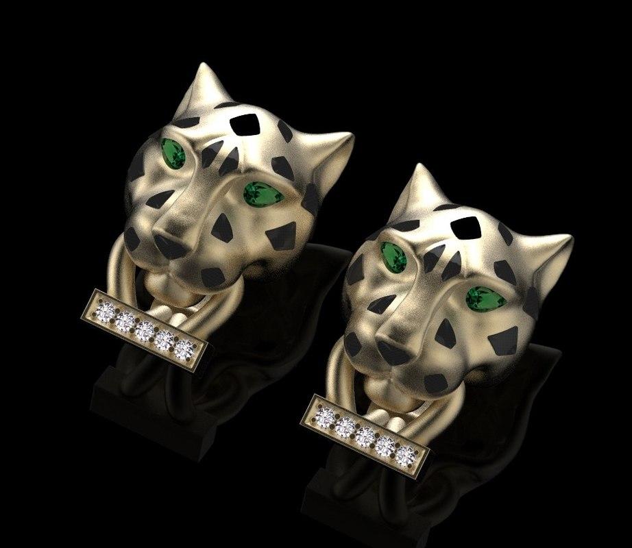 earrings ring model