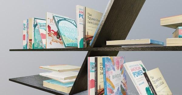 bookshelf book shelf model