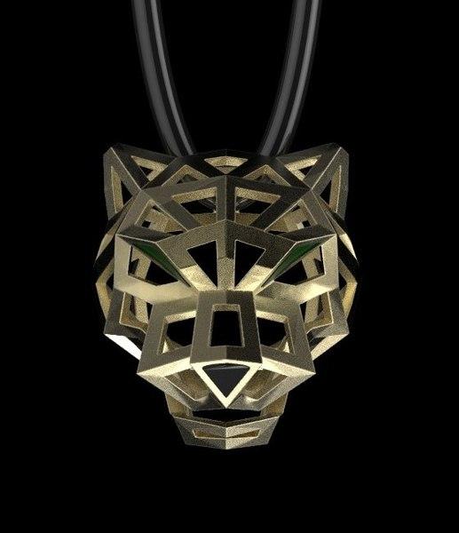 3D pendant model