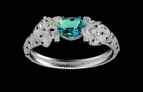 3D model bracelet jewelry