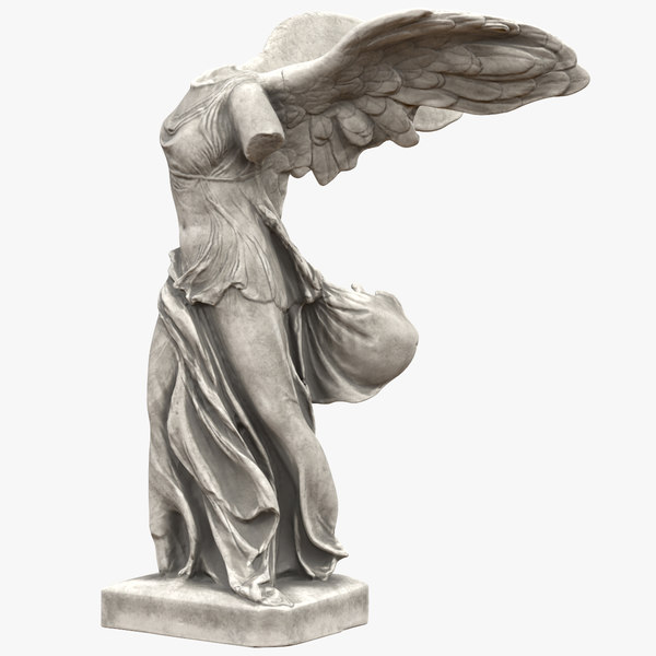 winged victory samothrace 3D