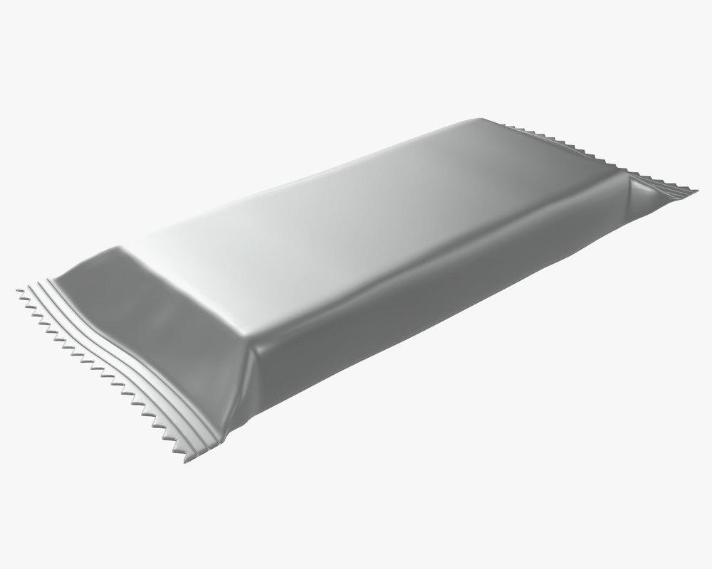 pack package blank 3D model