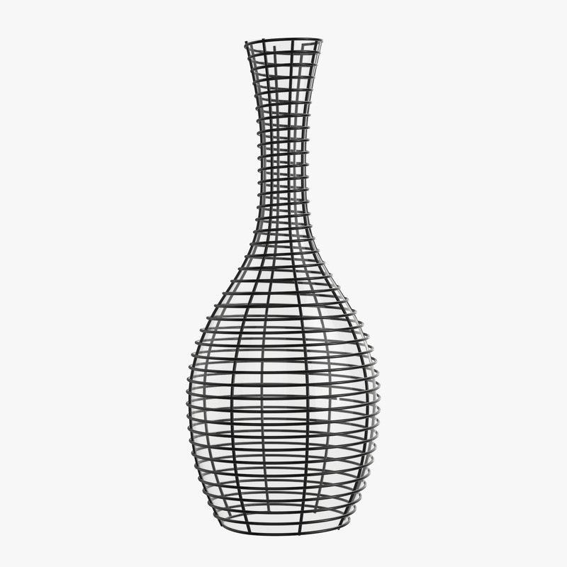 vase decorative 3D model