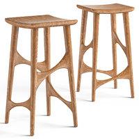 loftdesigne stool 1961 3D model