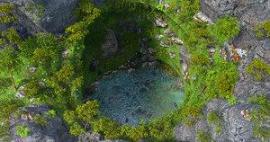 creek fantasy 3D
