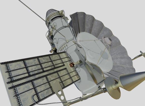 3D model spacecraft