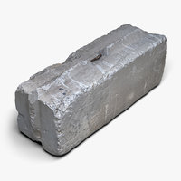 Concrete Block (3D scan)